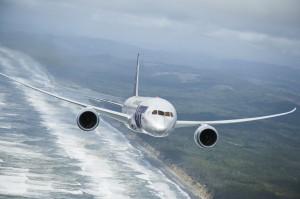 787 ZA001 air to air